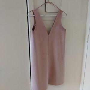 😊😊ZARA SUEDE DRESS